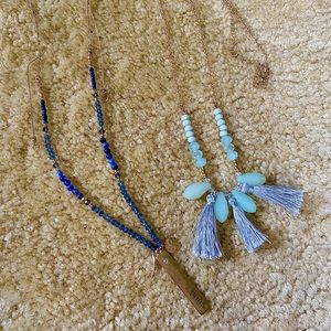 2/15$ Two long necklaces deal